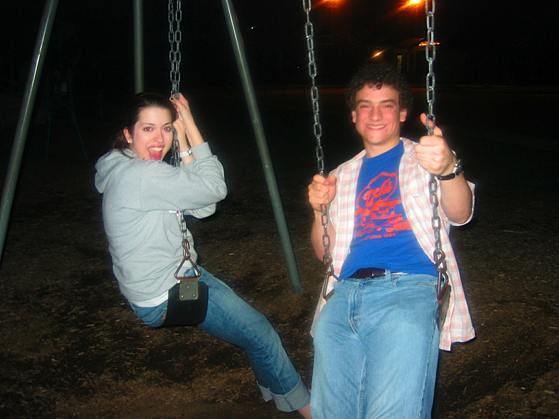 The swings are really fun