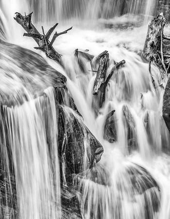 Waterfalls in the Winter