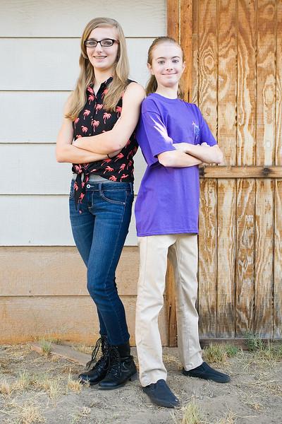 Hannah and Sarah