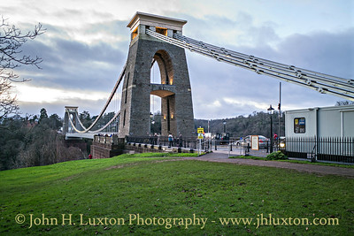 The Clifton Suspension Bridge - Bristol