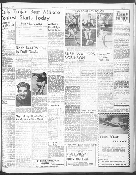 Daily Trojan, Vol. 28, No. 142, May 24, 1937