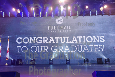 Ceremony One Grads Walking November 26th, 2019 Full Sail Graduation