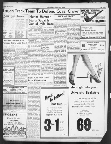 Daily Trojan, Vol. 29, No. 146, May 27, 1938
