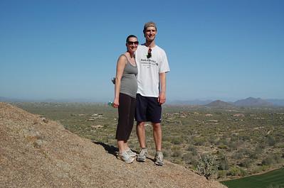 2011, April Laura and Corey in AZ