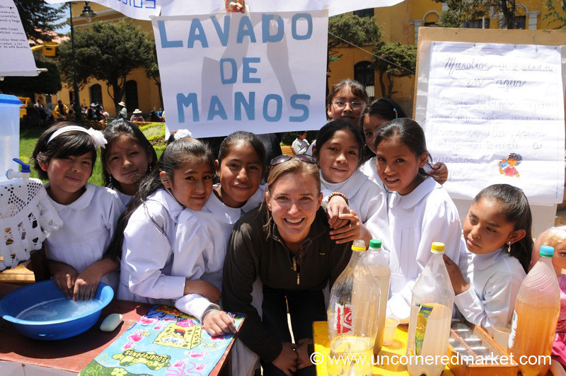 Audrey and the Girls - Potosi, Bolivia
