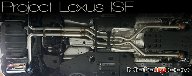 Project Lexus IS-F Part 2: We test the Joe Z/ PTS Exhaust
