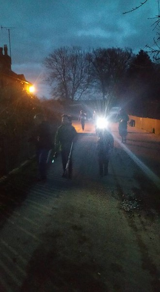 2017-03-18 Scout District Night Hike