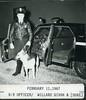 K-9 Officer Willard Givan and Duke 2-11-1967