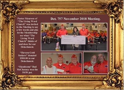 11-27-18 Det. 757 Meeting