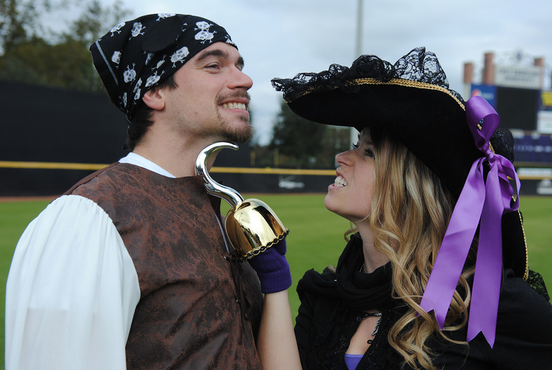 11/6/2010 ECU vs Navy - Stephen, Rachel