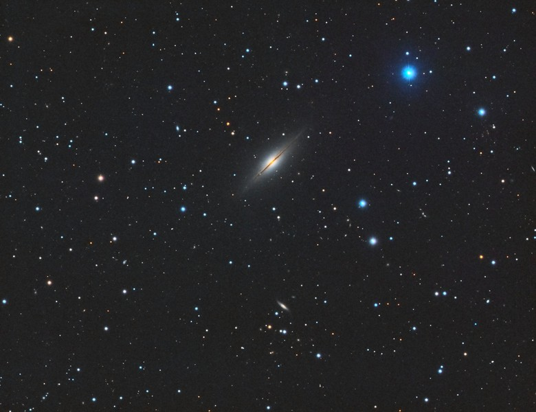 NGC7814 Little Sombrero Galaxy