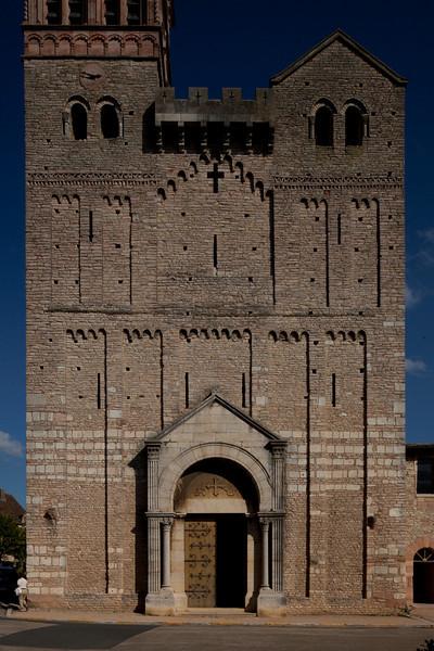 Tournus, Saint-Philibert Abbey Facade