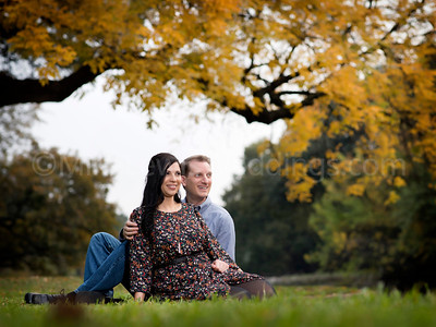 Yari & Klaus Engagement photos at Lakeside park
