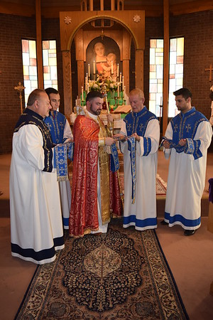 Blessing of Stoles