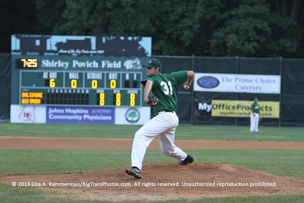 vs. Maryland Redbirds, 7/31/2013, The Game