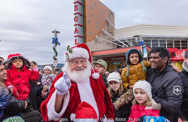 Santa's Arrival 2017