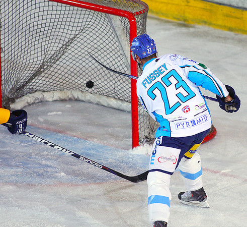 Blaze v Hull Stingrays - 17/09/2011