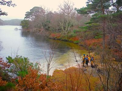 Canoe Trips on Scottish Lochs