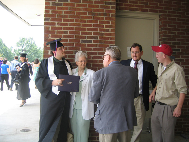 My Grandparents at My University Graduation