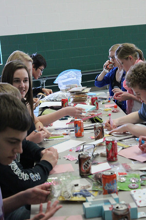 Fresh/Soph Card Making Service Project