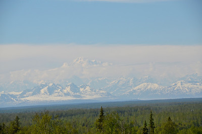 Talkeetna Lodge - Mt. McKinley views