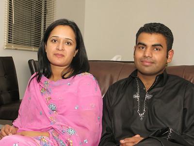 Mian Tahir & family.
