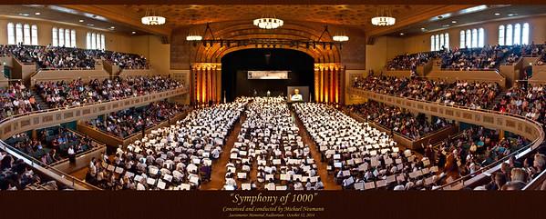 Symphony of 1000 Panorama