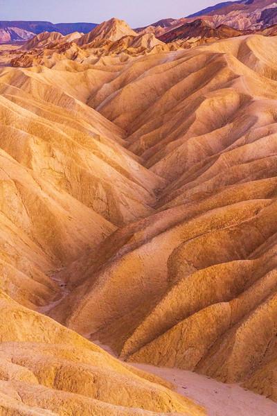 Ancient Erosions: Zabriskie Point