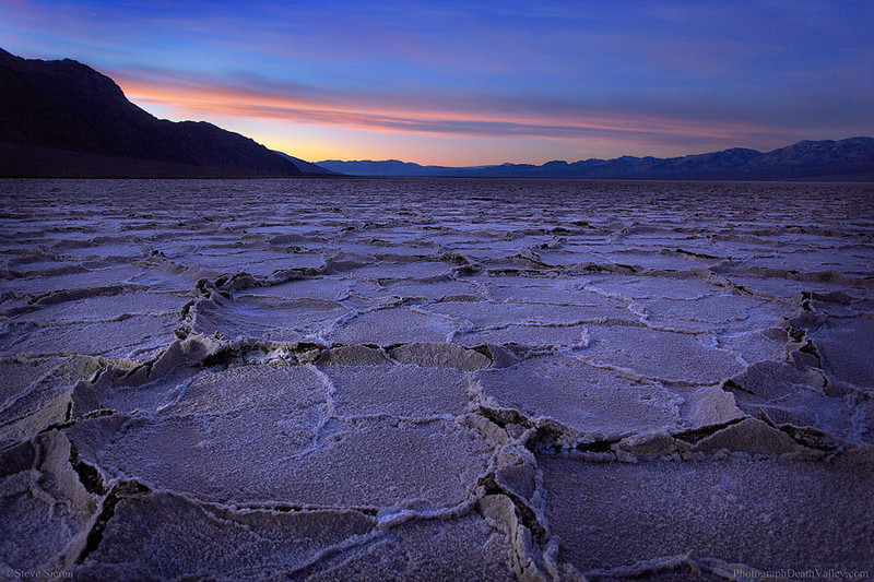 Badwater Salt Flats - Death Valley National Park, California