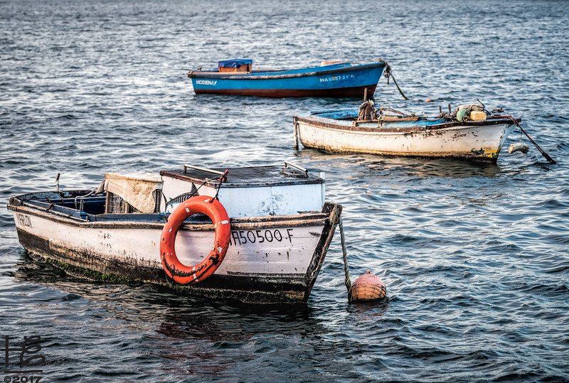 Cuban fishing boats