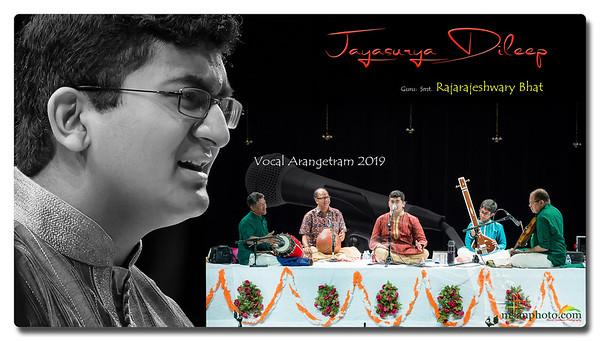 Jayasurya's Carnatic Vocal Arangetram 2019