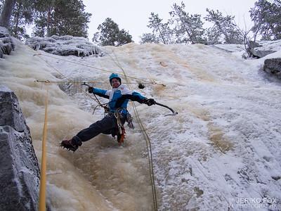 Ice Climbing Season is on Full Swing 2017