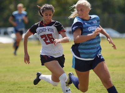 women's soccer vs Citadel