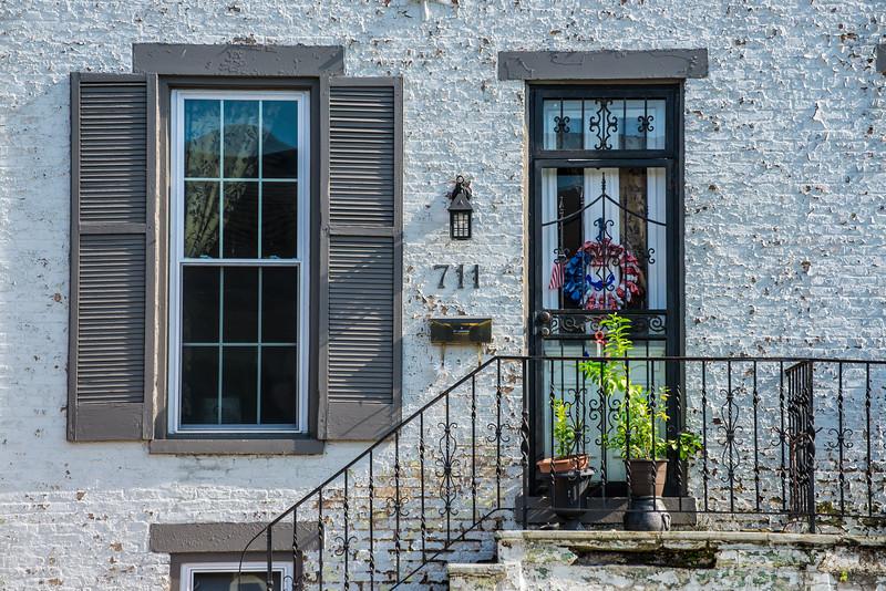 Historic Madison Indiana Doorway