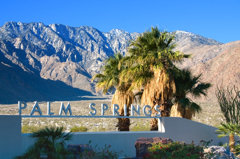 palm springs - day trip from los angeles