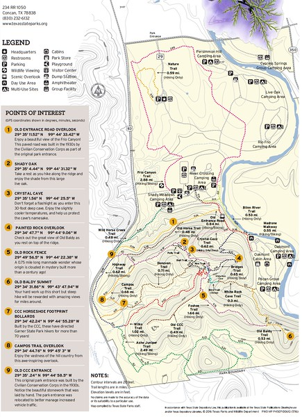 Garner State Park (Trails)