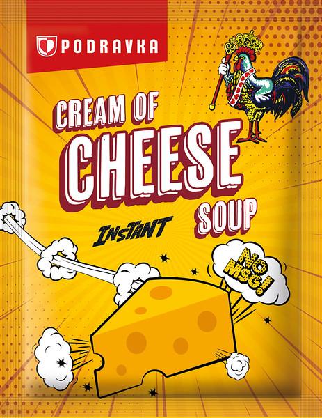 264699 PODRAVKA kiirsupp juustuga koorene 17g 3856020234829