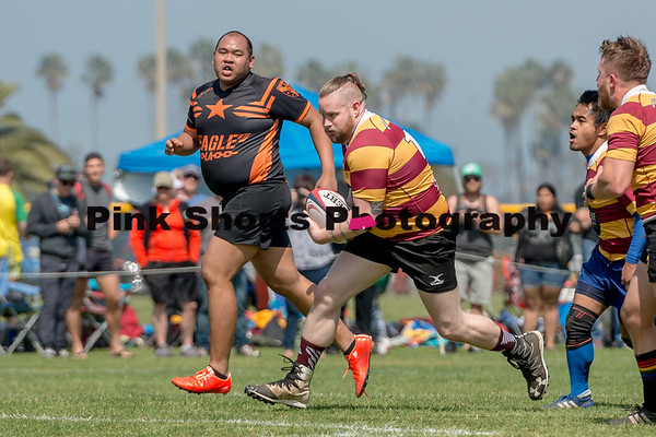 March 18, 2017 - San Diego Armada v Los Angeles Rebellion Rugby D3