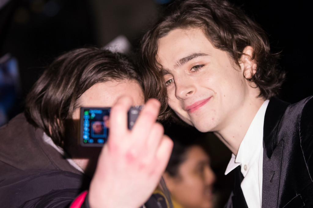 . Timothee Chalamet poses for photographers upon arrival at the BAFTA Film Awards, in London, Sunday, Feb. 18, 2018. (Photo by Vianney Le Caer/Invision/AP)