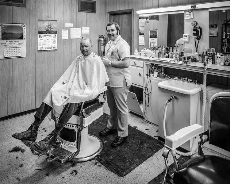 Bob's Barber Shop, Coldwater, Ohio