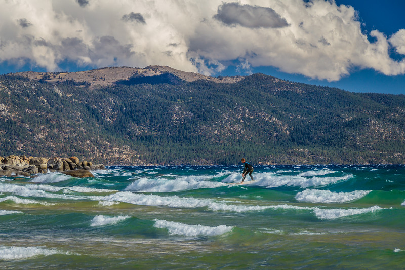 Surf Lake Tahoe
