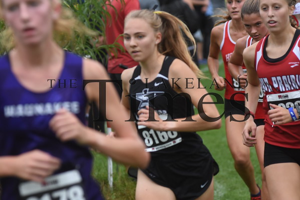 LUHS Cross Country at Smiley Invite September 21, 2019