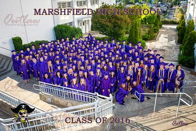 Marshfield High School Graduation 2016