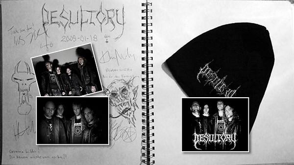 DESULTORY promo 2009