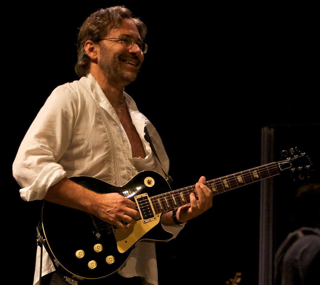 Al di Meola playing with Return To Forever at the Nice Jazz Festival 2008