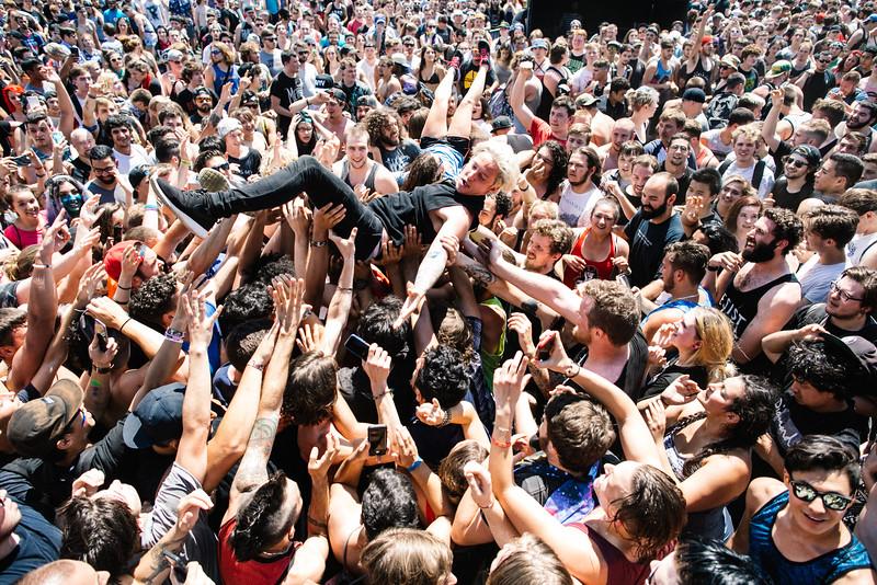 The Word Alive in Hartford, CT on Vans Warped Tour 2016