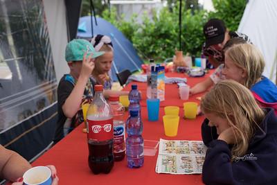 Martine op de Camping