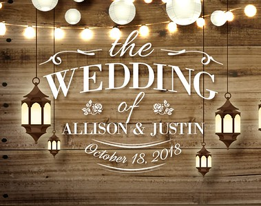 Allison & Justin's Wedding!