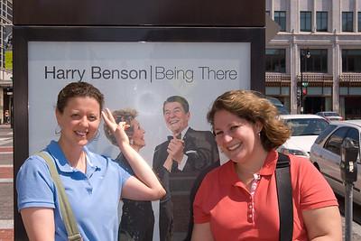 Lisa in DC (Sept. 2007)
