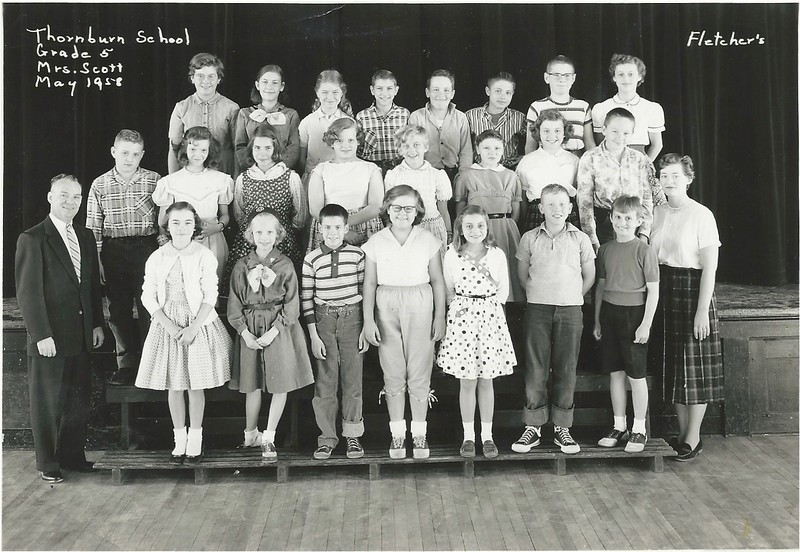 Thornburn 5th Grade Mrs. Scott